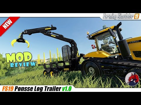 Ponsse log trailer v1.0.0.0