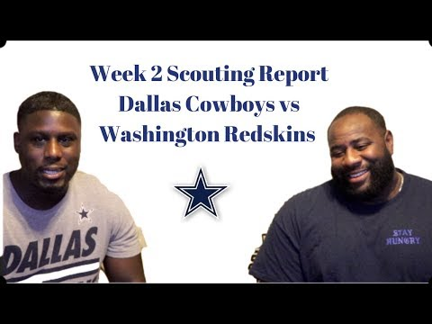 Dallas Cowboys vs Washington Redskins Week 2 Game Preview   Dallas Cowboys 2019