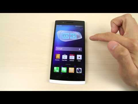 How to change the home screen and lock screen wallpaper on Oppo Find 5