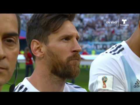 Argentina National Anthem Vs Nigeria FIFA World Cup 2018