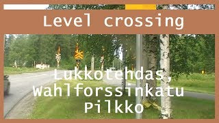 Nonton Lukkotehdas, Wahlforssinkatu Pilkko. half-barrier device Joensuu Film Subtitle Indonesia Streaming Movie Download