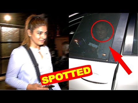 Raveena Tandon Gets Angry On Cameraman Spotted At Bandra