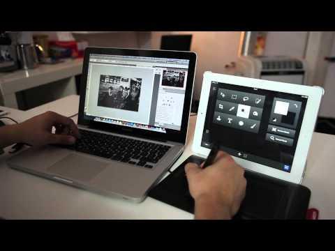 Dotyk Photoshopa, czyli Adobe Nav + Photoshop - poradnik wideo