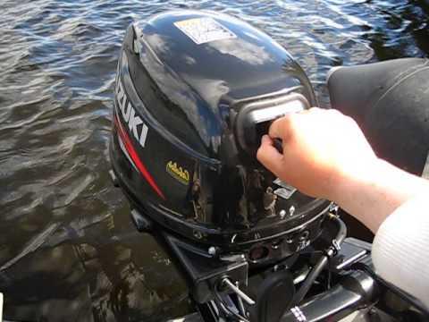 лодочный мотор suzuki df20as расход топлива