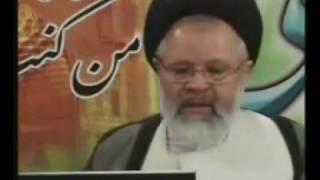 گوزیدن ایت الله قزوینی - 3 گوز در 20 ثانیه در برنامه ی زنده