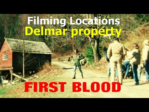 first blood - FOLLOW ME ON FACEBOOK PAGE http://www.facebook.com/pages/On-The-Set-The-Movie-Filming-Locations-Channel/142496402443046 Purchase DVD http://rambo-stallone-on...