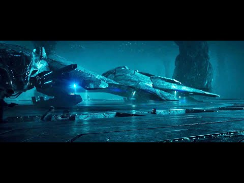 Stealing Scene of Alien Fighting Ship (Independence Day: Resurgence)