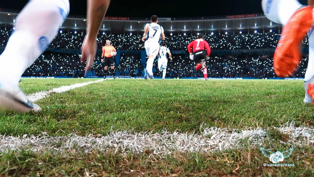 Recibimiento de la hinchada de Belgrano contra Boca