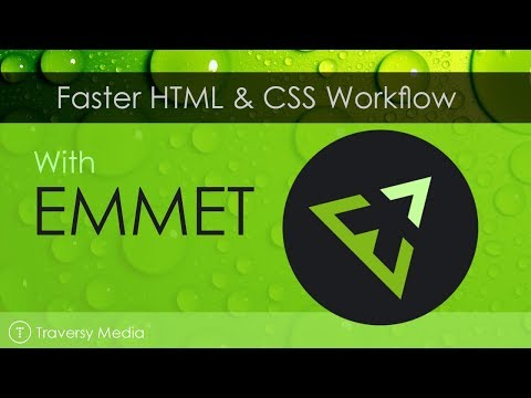 Emmet For Faster HTML & CSS Workflow