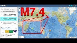 Fuerte terremoto dentro de ALERTA SISMICA... mas en un par de horas en el Reporte Solar Sismico y Volcánico de hoy lunes...