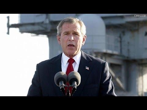 Video rewind: Bush's 'Mission Accomplished'