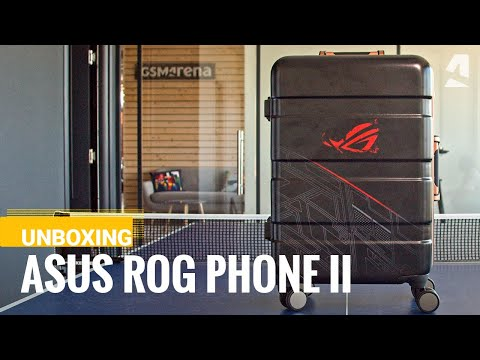 Asus ROG Phone 2 - the REVIEWER'S KIT unboxing
