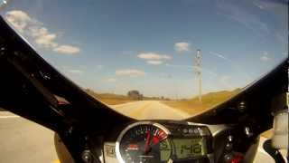 6. 2012 GSXR600 Top Speed Test