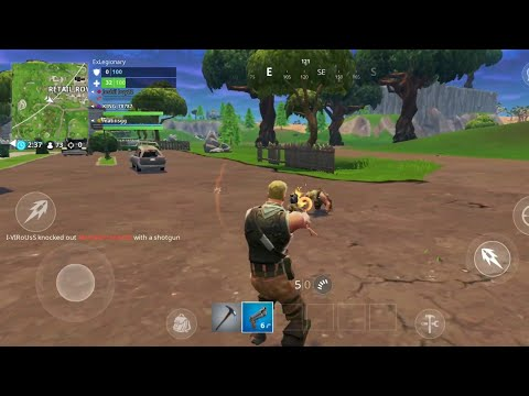 Fortnite Beta Released - Android - Samsung Galaxy S9 Plus Gameplay