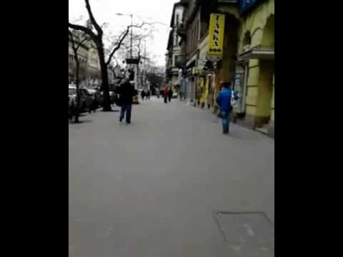 imotka - Crazy guy is dancing in the street in Budapest, Hungary without any reason :) Best of crazy dances...