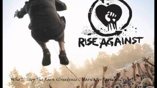 Who'll Stop The Rain by Rise Against (With Lyrics) (Creedence Clearwater Revival Cover)
