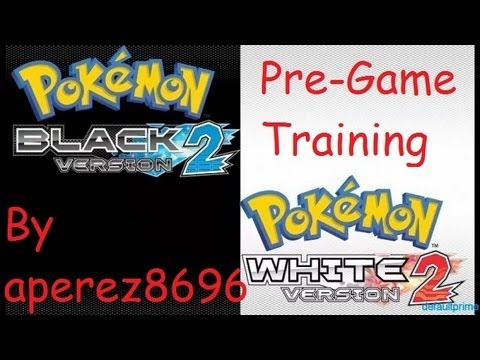 how to level up fast in pokemon black 2