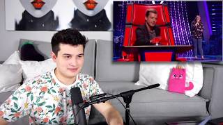 Video Vocal Coach Reacts to Fastest Chair Turns | The Voice MP3, 3GP, MP4, WEBM, AVI, FLV Desember 2018