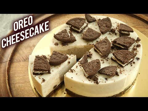 No Bake OREO CHEESECAKE | EGGLESS OREO CHEESECAKE RECIPE | How To Make Oreo Cheesecake | Bhumika