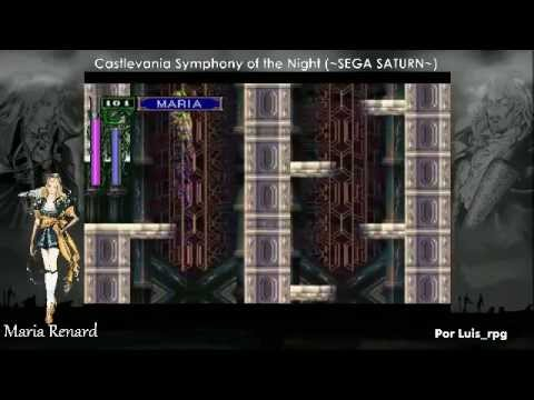 castlevania symphony of the night saturn differences