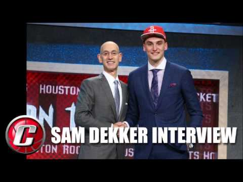 Sam Dekker Interview after being drafted by the Houston Rockets