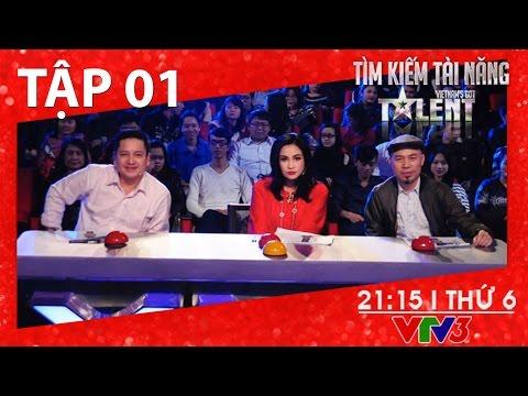 Tìm Kiếm tài năng Việt Nam 2016 MÙA 4 - TẬP 1  01/01/2016