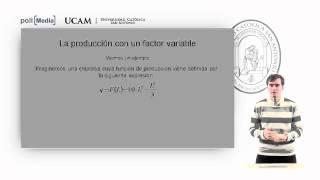 Microeconomía II - La Tecnología De Producción (3) - Alfonso Rosa García
