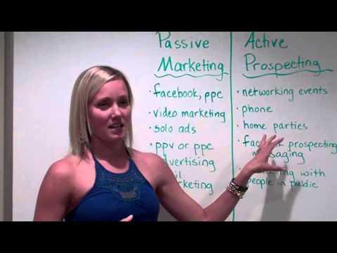 MLM Recruiting Secrets – Passive Marketing vs. Active Prospecting
