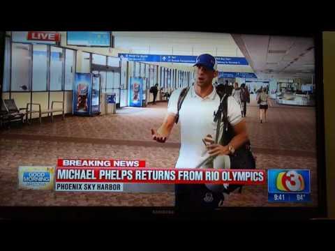 Rio 2016 - Michael Phelps news