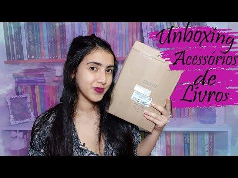 ?Unboxing  | Acessórios para Livros | PURA FOFURA |  Leticia Ferfer  |Livro Livro Meu