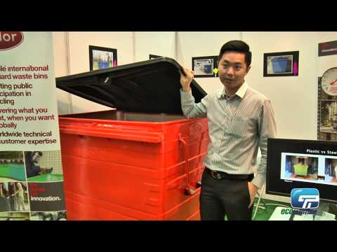 Universal Environmental Resources : Taylor - Waste Contamination Bin For Industrial Purpose