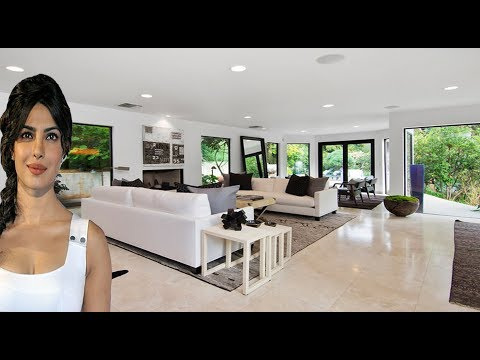 Priyanka Chopra's Modern Beautiful Vacation Villa In Beverly Hills