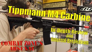 Special thanks to Combat Zone for letting us do a review of the Tippmann M4! For more information about Combat Zone Sports, click the link: http://czpaintbal...