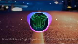 Video Alan Walker and Gigi D'Agostino - Faded L' Amour [ Mix] Petruz MP3, 3GP, MP4, WEBM, AVI, FLV Maret 2018