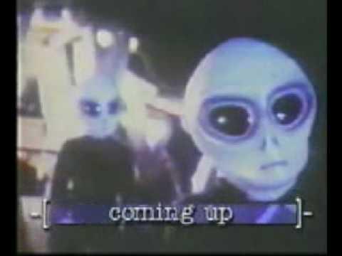 Alien Landing in The Woods