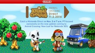 In Case You Missed It: Animal Crossing Direct 11.2.2016