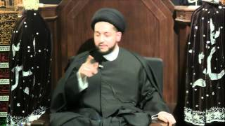 """7th Night of Muharram 1435: """"A Simple Model of Rational Crime"""" by Sayed Mothafar Al-Qazwini"""