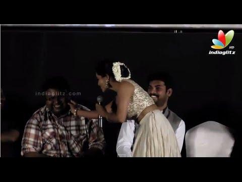OH SO CUTE! Priya Anand Pinches D Immans Cheeks! | Oru Oorla Rendu Raja Audio Launch