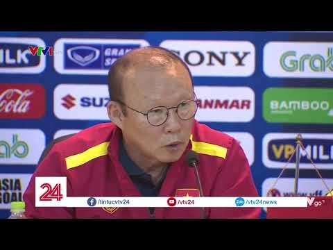 HLV Park Hang Seo: 'Lứa U23 Việt Nam hiện tại năng lực không tốt bằng năm ngoái' | VTV24 - Thời lượng: 1:07.