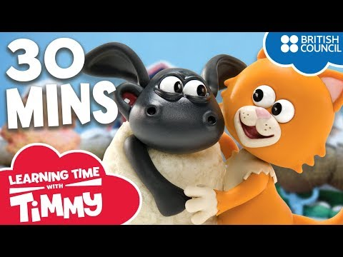 Full Episodes Compilation 21-26   Learning Time with Timmy   Cartoons for Kids