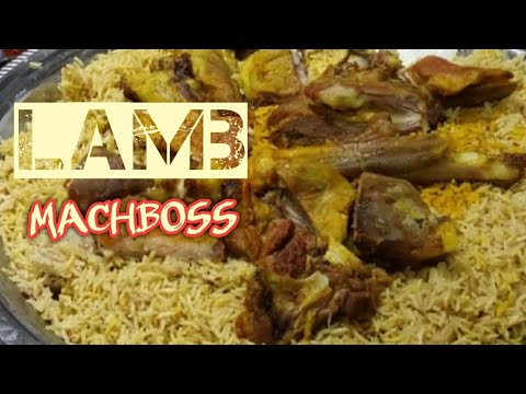 Machboos laham popular arab recipe