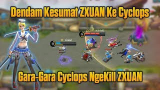 Video DENDAM ZXUAN !!! Cari Gara-Gara Dengan zxuan Ini Yang Terjadi Pada Cyclops di Classic Match MP3, 3GP, MP4, WEBM, AVI, FLV November 2018