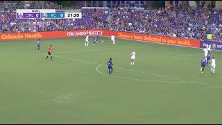 Alex Morgan, Toni Pressley, Alanna Kennedy and Kristen Edmonds scored for the Pride as Orlando topped FC Kansas City 4-1 at home in Week 13. Marta and Camila each earned their fourth assist of the season. FC Kansas City's Maegen Kelly scored in the loss. July 15, 2017.