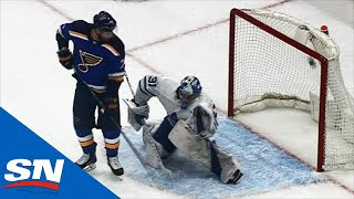 Goal Horn Halts Blues Vs. Maple Leafs Game After Colton Parayko Scores by Sportsnet Canada