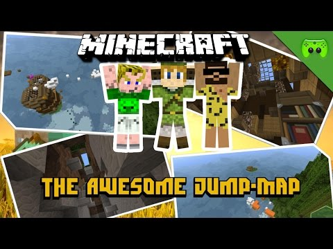 MINECRAFT Adventure Map # 1 - Awesome Jumpmap 2 «» Let's Play Minecraft Together | HD