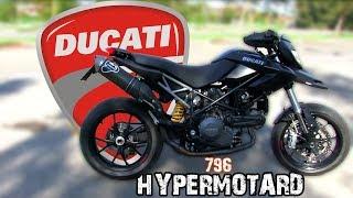 1. DUCATI HYPERMOTARD 796!! (2011) |Test Ride|