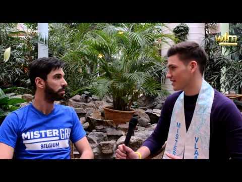 Kevin Aerts Finalist Mister Gay Belgium 2016 (видео)