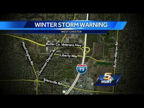 Winter storm brings 3 rounds of snow, sleet, freezing rain