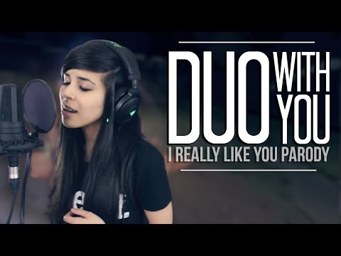 Lunity - Duo With You (I Really Like You by Carly Rae Jepsen) lyrics
