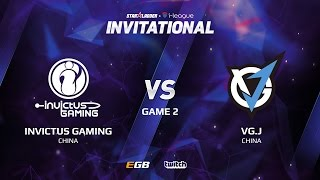 Invictus Gaming vs VG.J, Game 2, SL i-League Invitational S2 LAN-Final, Group A